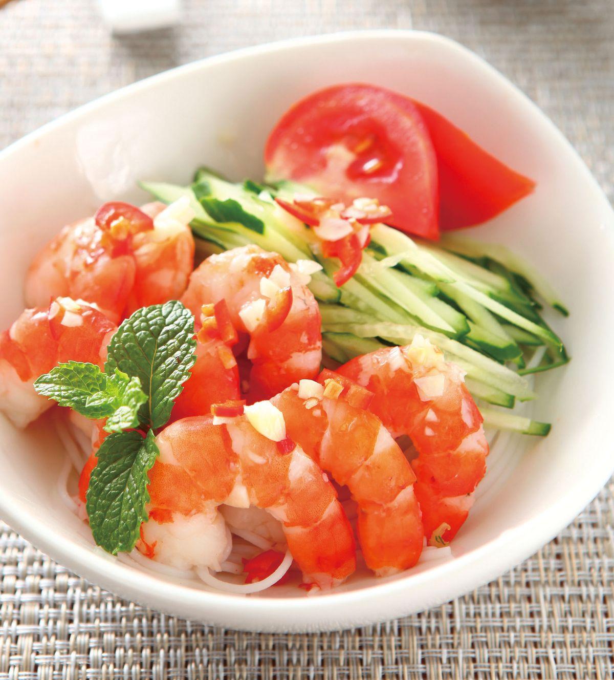 食譜:越式涼拌蝦