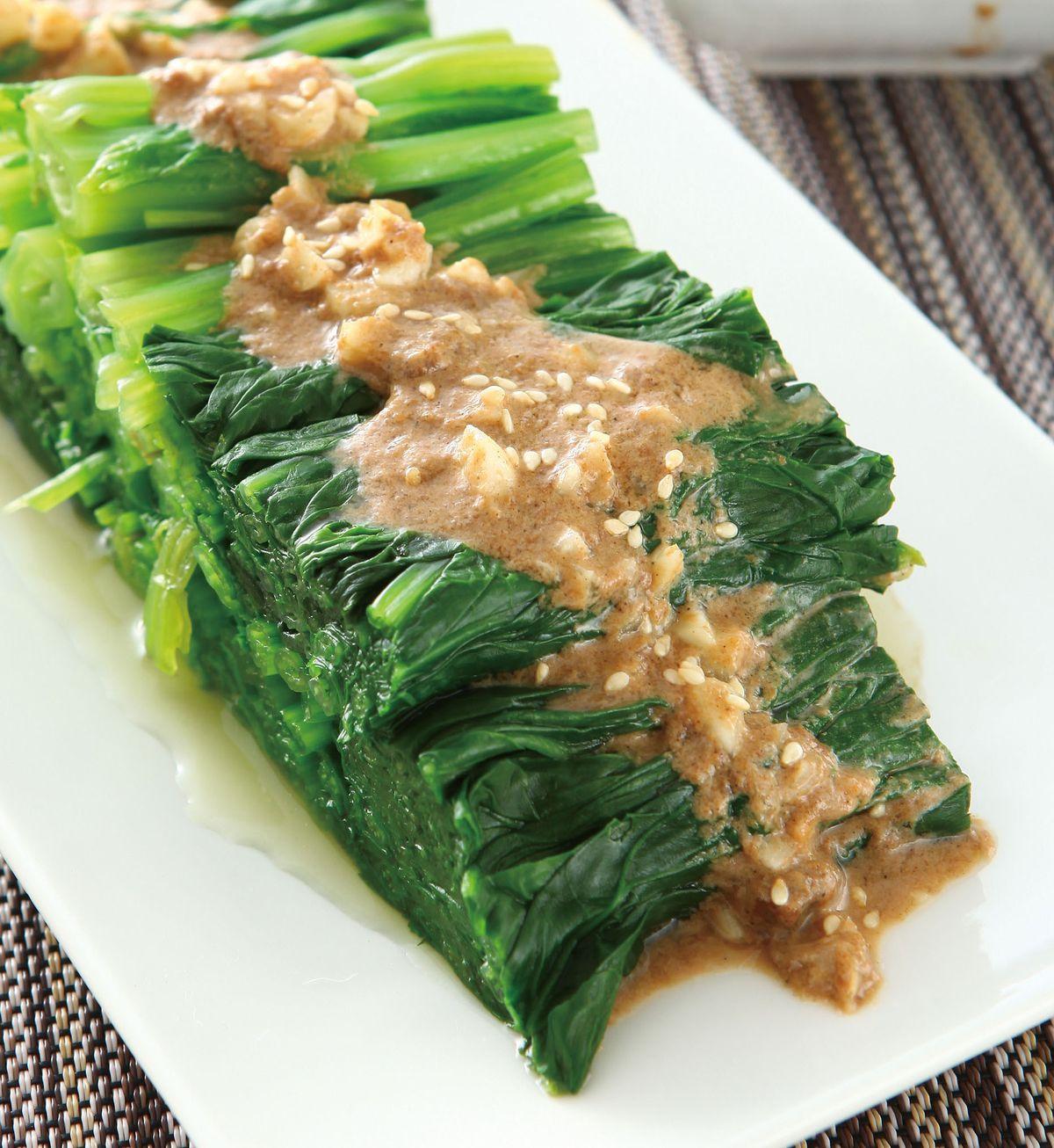 食譜:胡麻菠菜