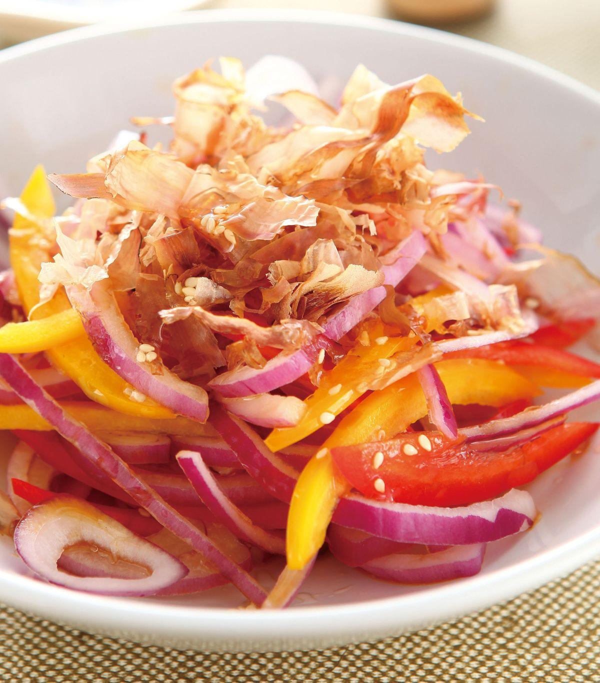 食譜:彩椒拌洋蔥