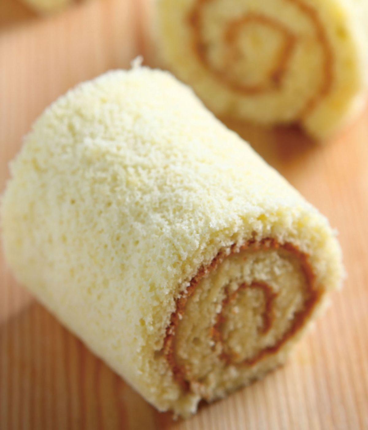 食譜:海綿蛋糕捲
