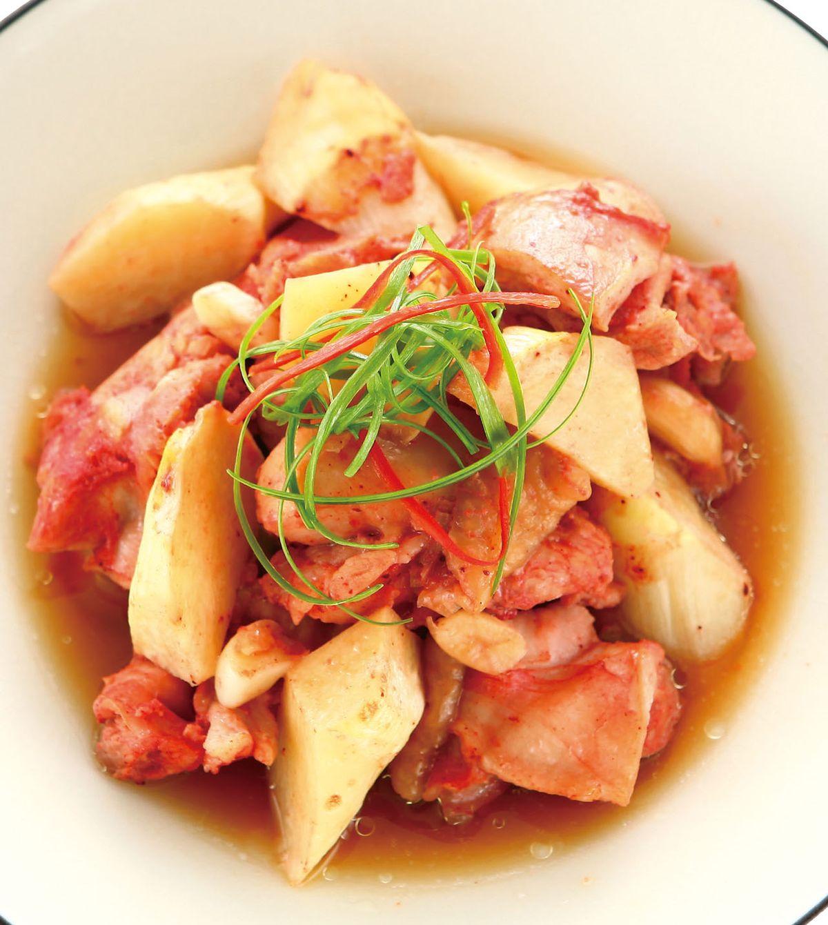 食譜:紅麴蒸雞塊