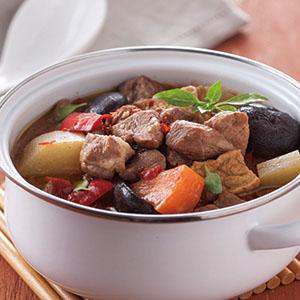 蘿蔔燒肉(4)