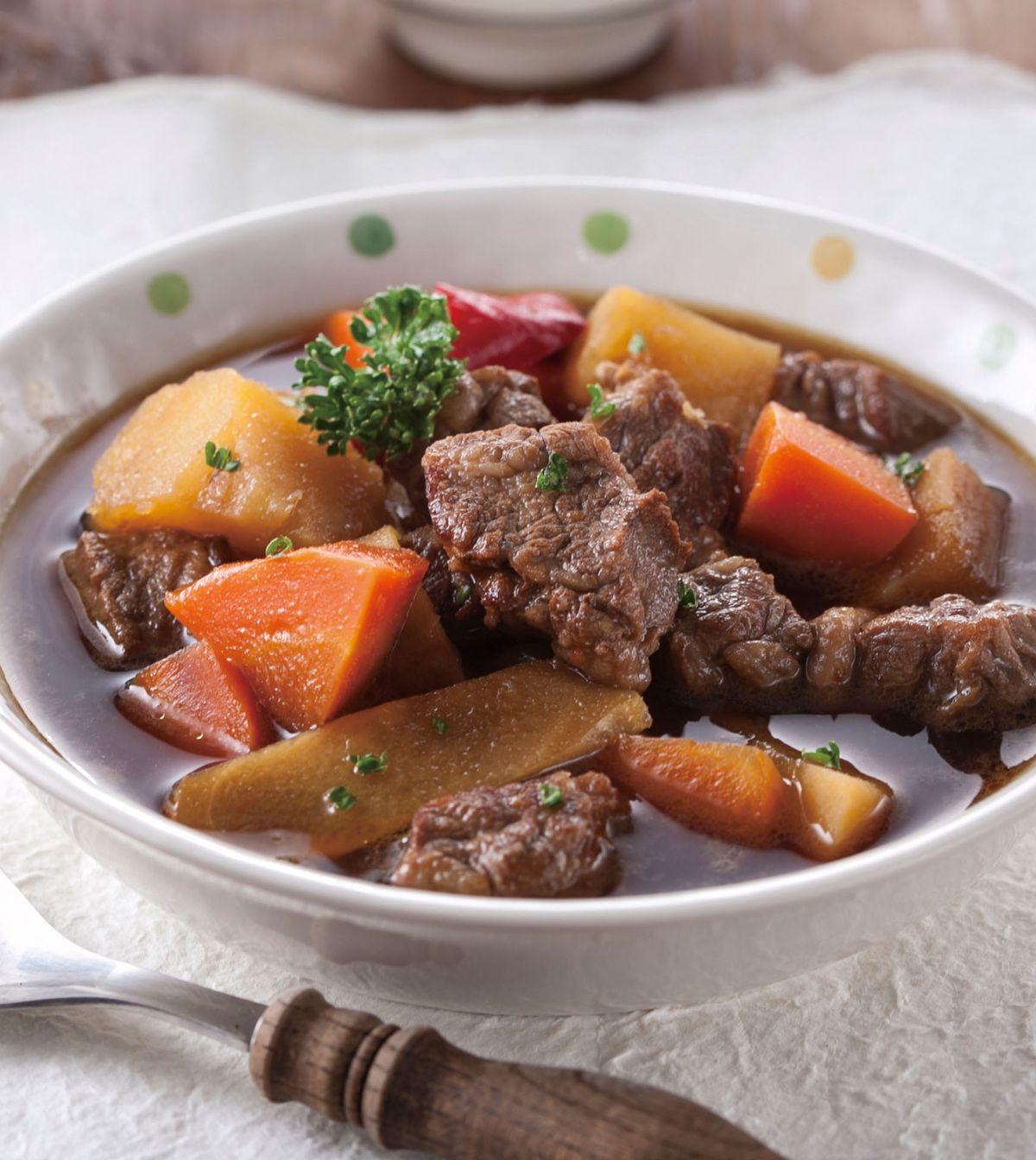 食譜:馬鈴薯燉牛肉(2)