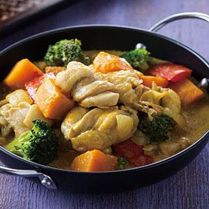 南瓜咖哩燉雞