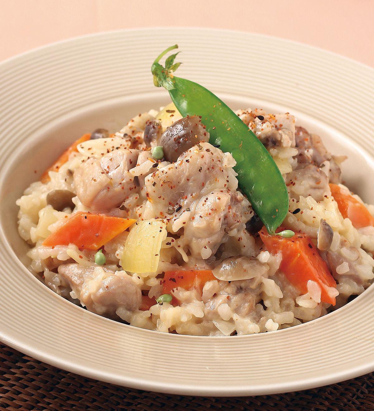 食譜:普羅旺斯雞腿燉飯