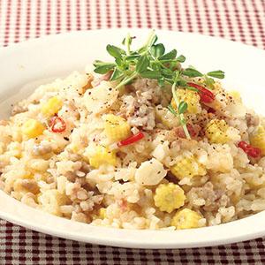 培根玉米燉飯