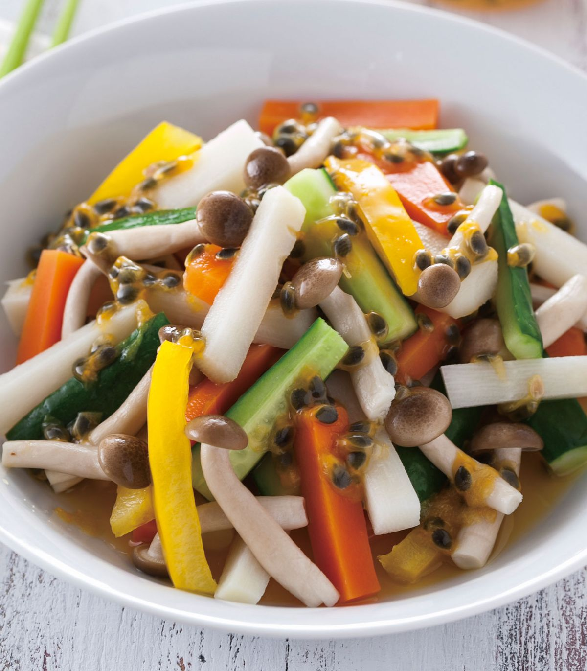 食譜:鴻喜拌時蔬