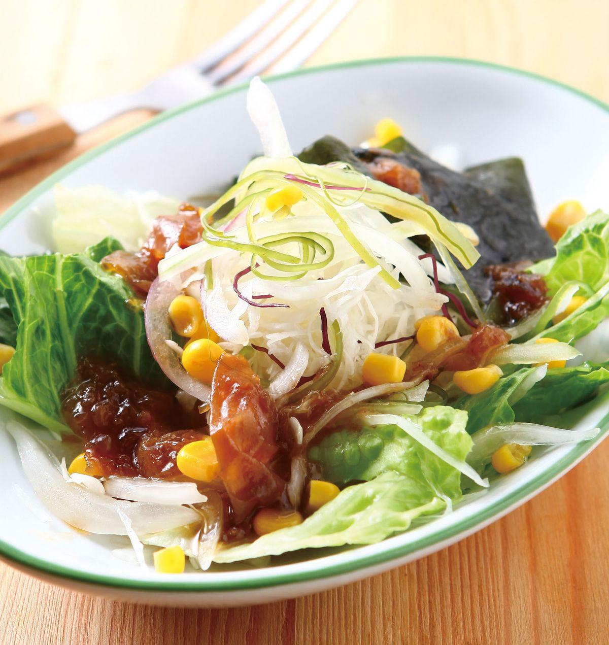 食譜:和風海藻沙拉