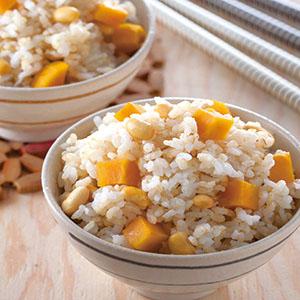 糙米黃豆地瓜飯
