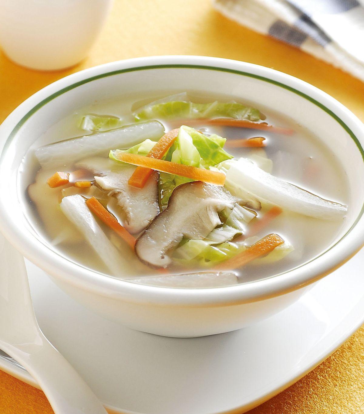 食譜:爽口高麗菜湯(1)