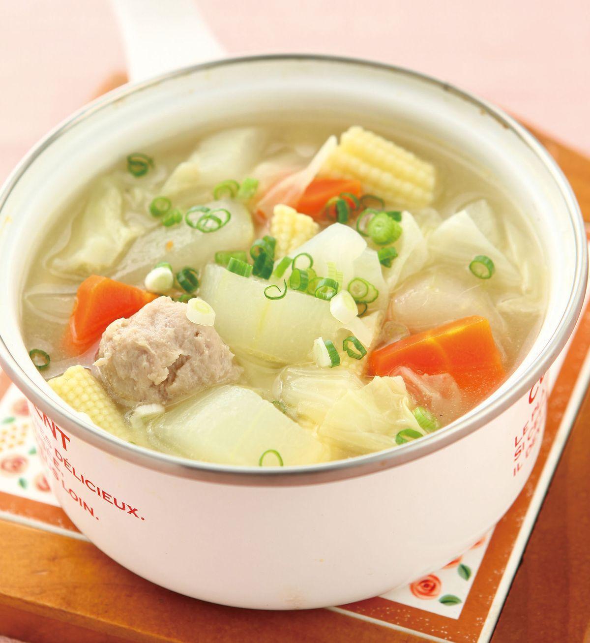 食譜:大黃瓜湯