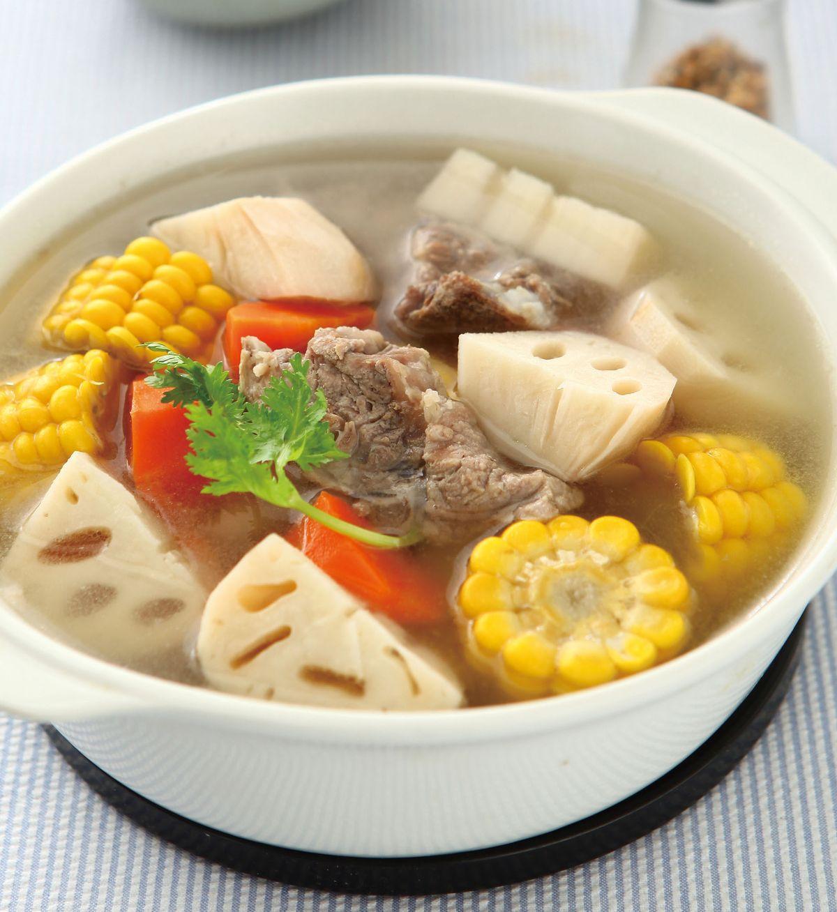食譜:蓮藕玉米湯