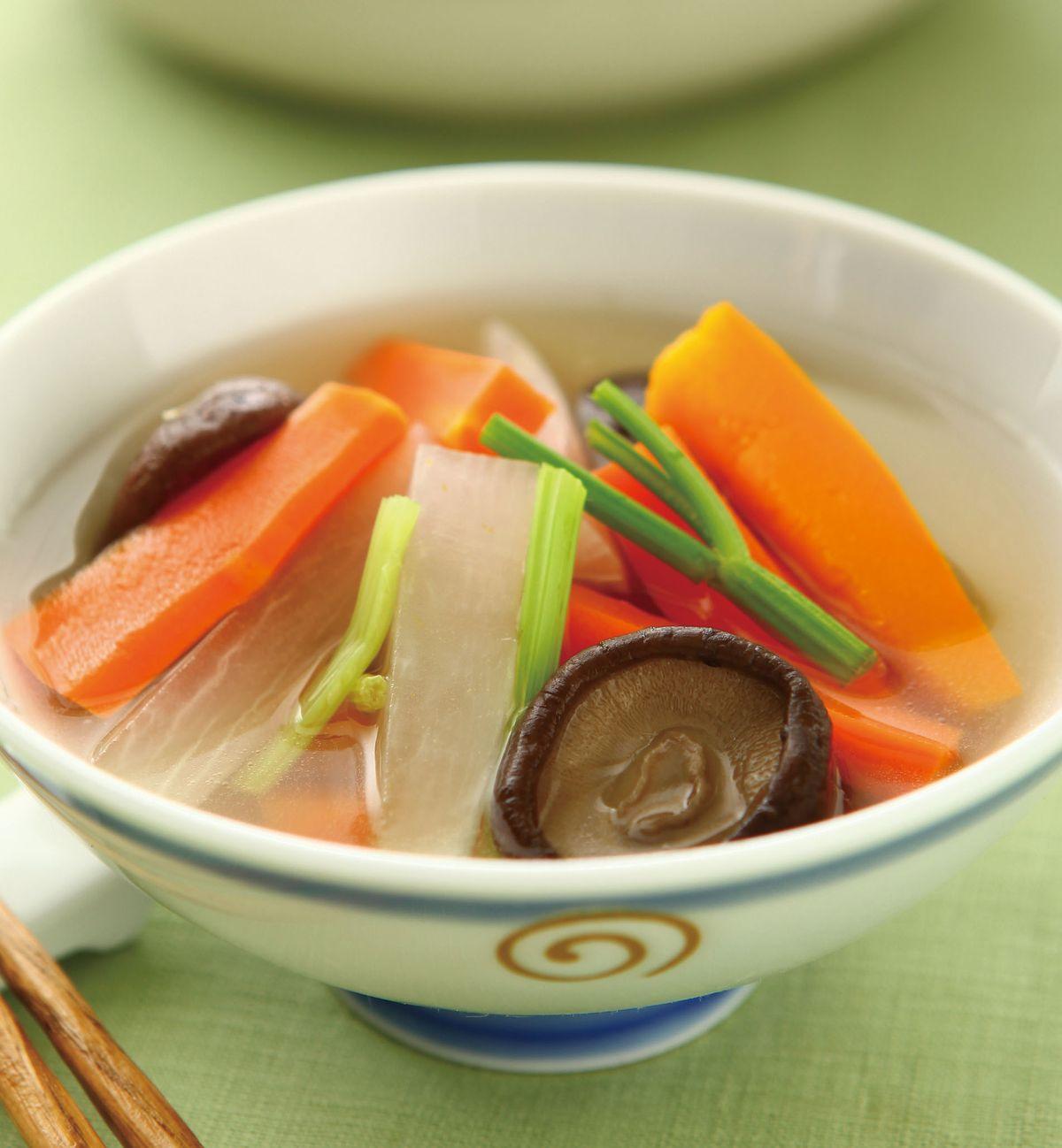食譜:五色蔬菜湯