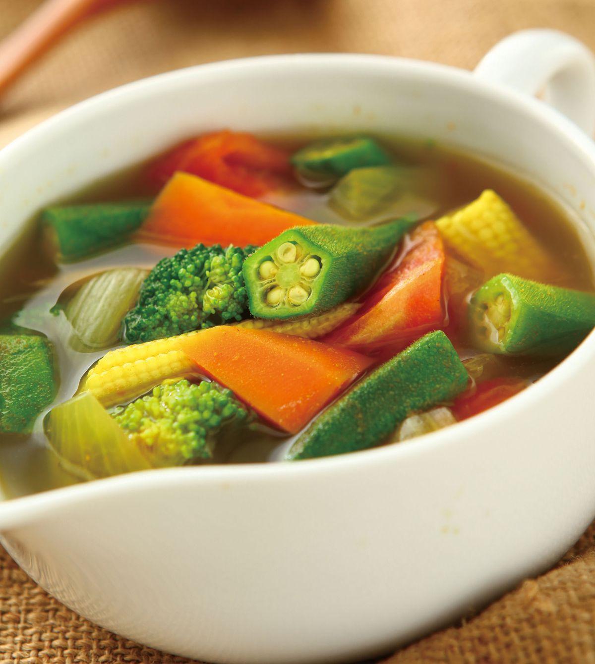 食譜:咖哩蔬菜湯(3)