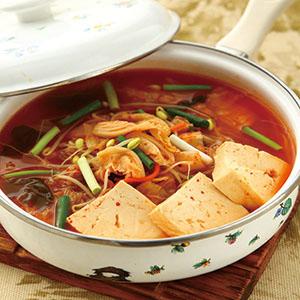 豆芽泡菜湯