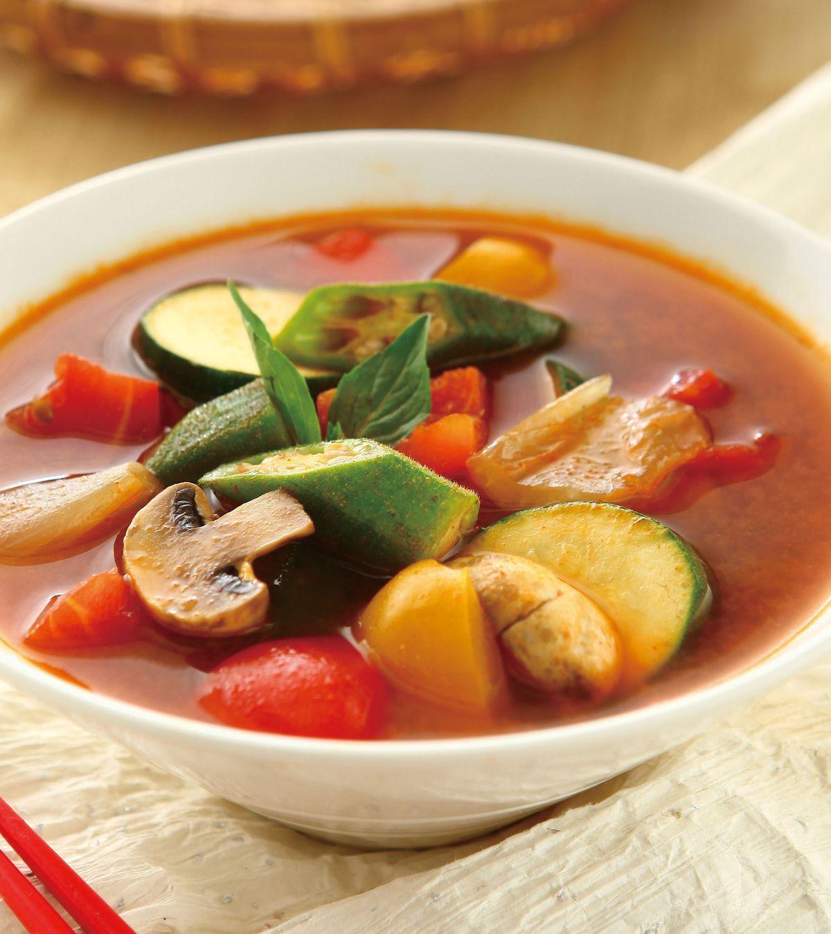 食譜:泰式酸辣蔬菜湯