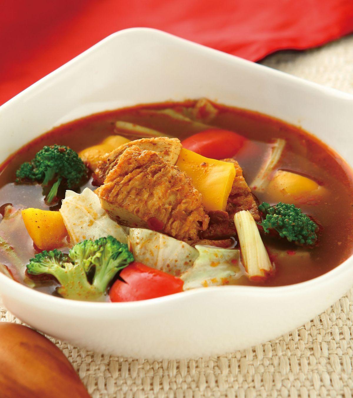 食譜:麻辣蔬菜湯