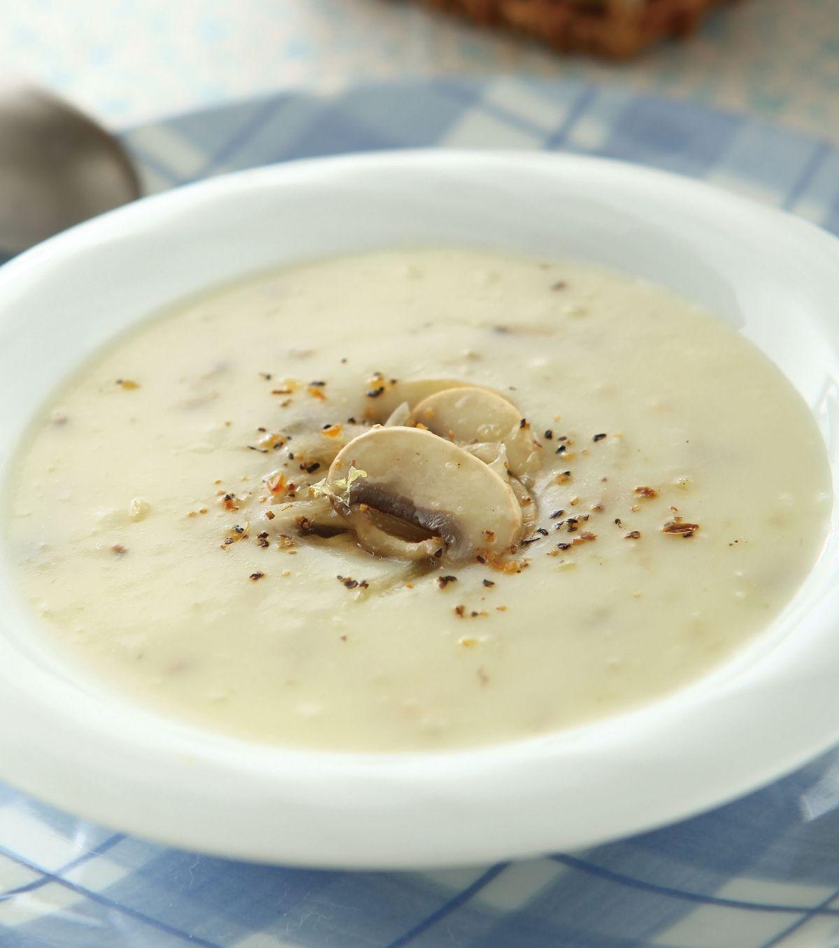 食譜:蘑菇濃湯(1)