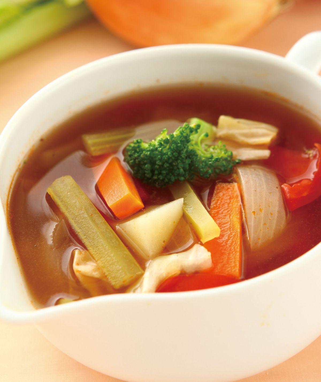 食譜:義式番茄蔬菜湯
