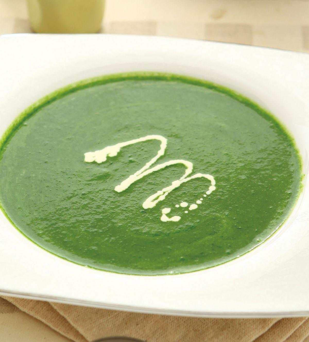 食譜:波菜奶油濃湯