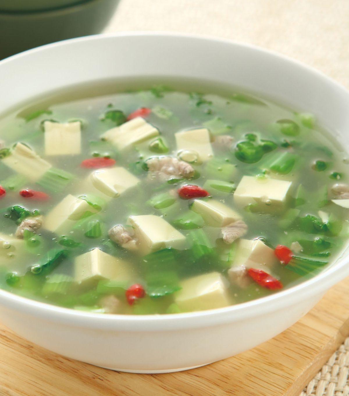 食譜:芥菜豆腐羹