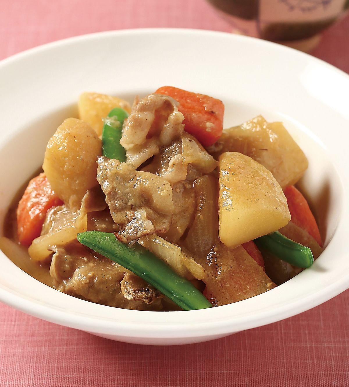 食譜:味噌燉肉
