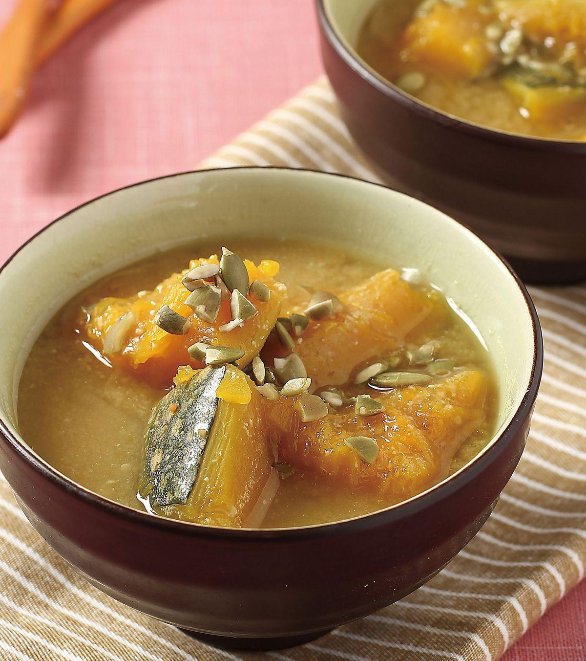 食譜:南瓜味噌湯