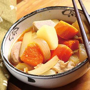 味噌滷芋頭南瓜