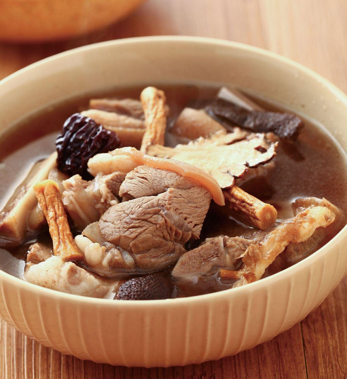 食譜:藥膳羊肉湯