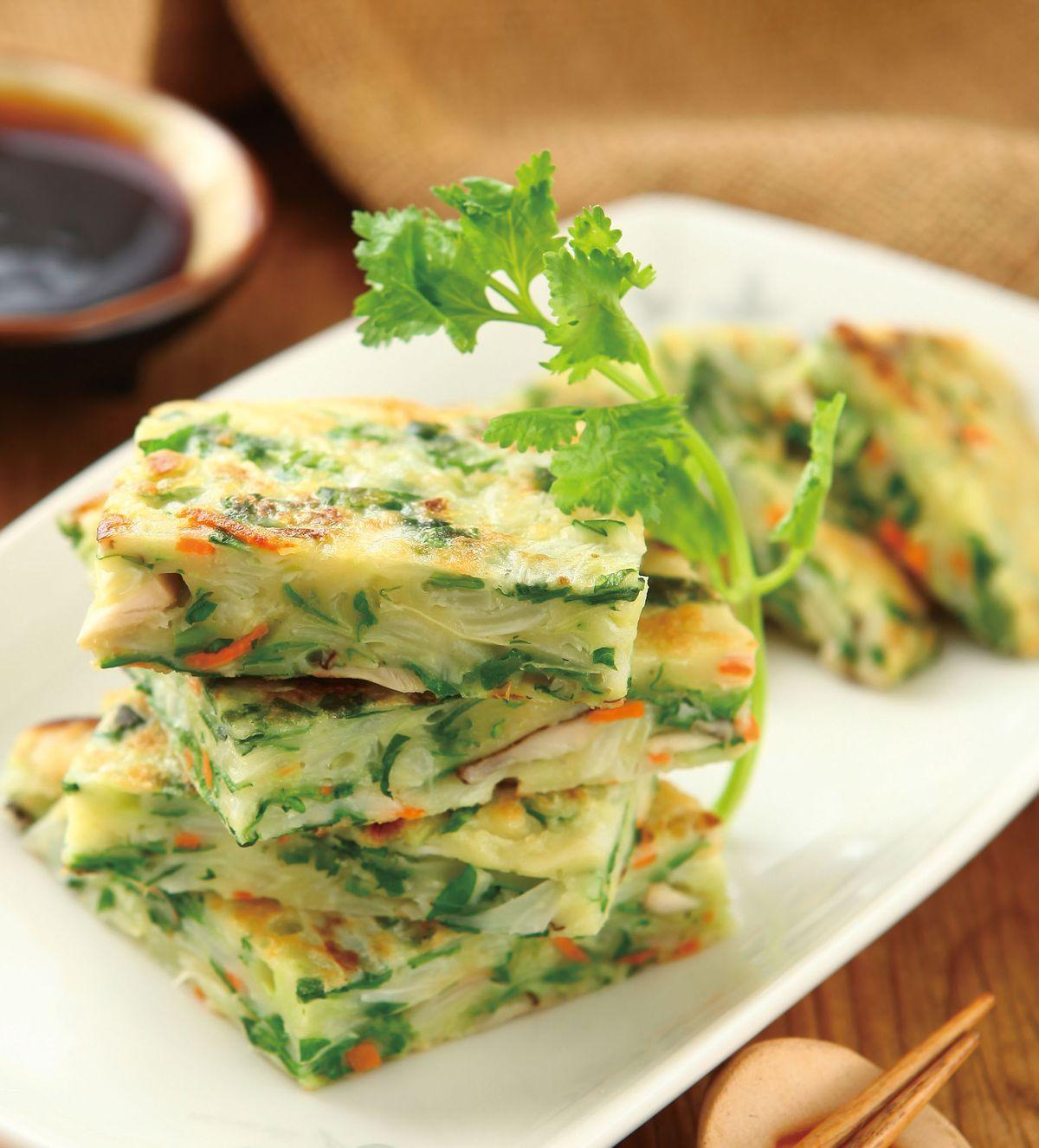 食譜:鮮蔬煎餅