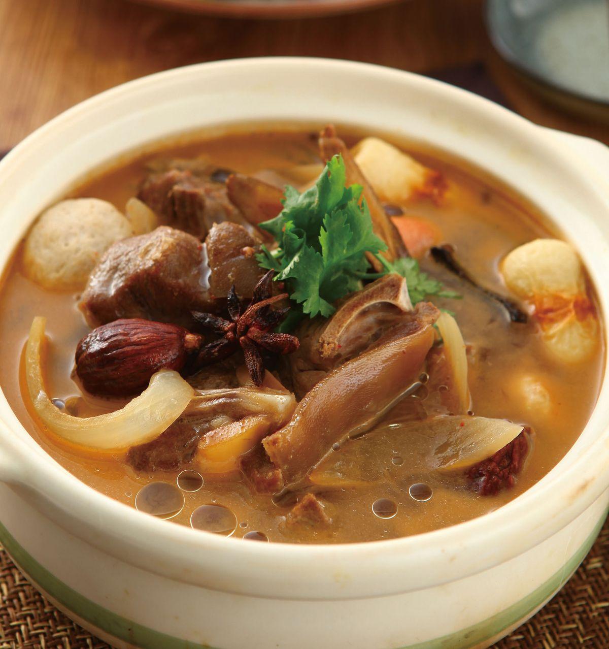 食譜:紅燒羊肉爐(3)
