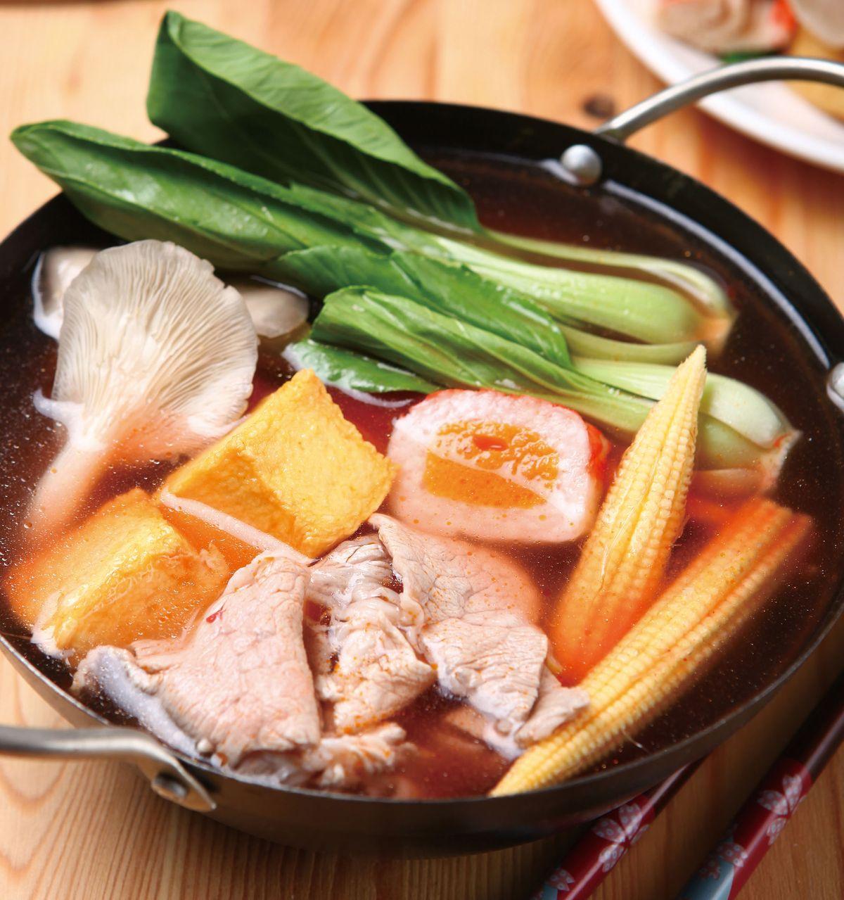 食譜:紅麴鍋