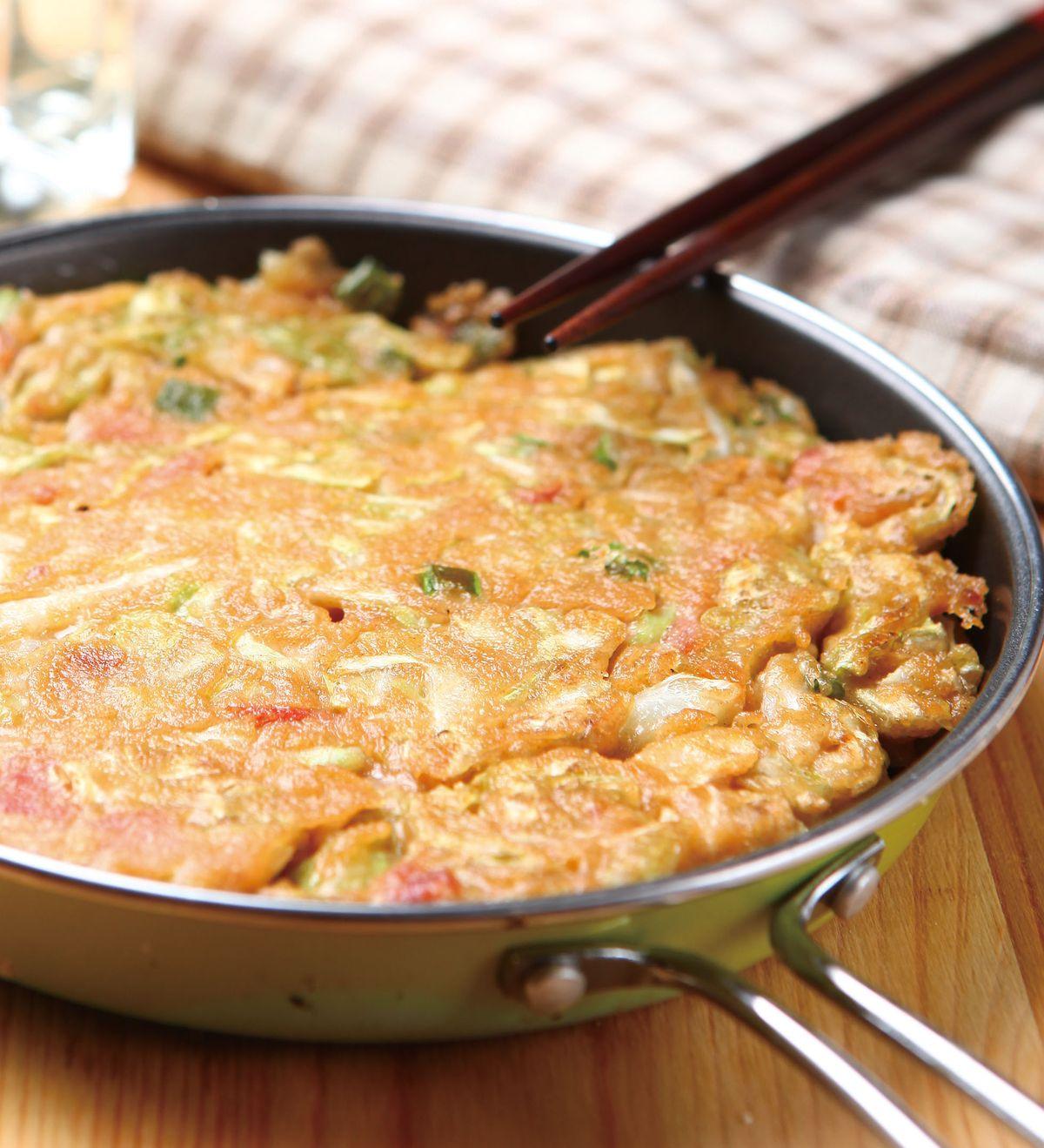 食譜:培根高麗菜煎餅