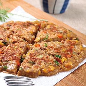 玉米鮪魚煎餅