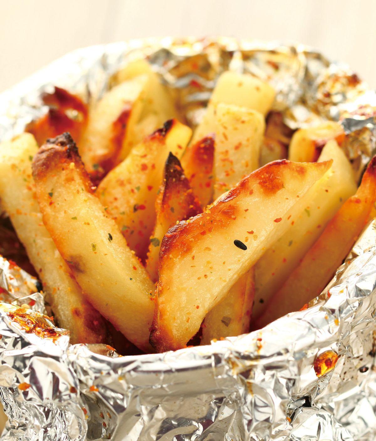 食譜:烤薯條