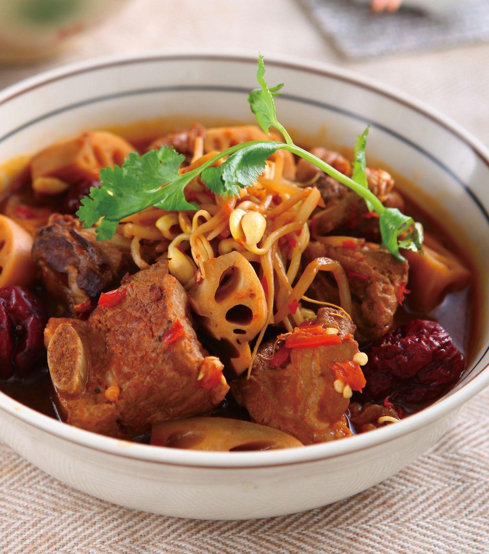食譜:剁椒蓮藕排骨鍋