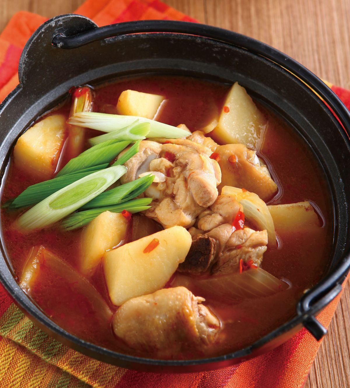 食譜:韓式馬鈴薯燉雞