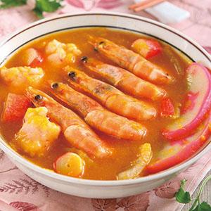 南瓜海鮮鍋
