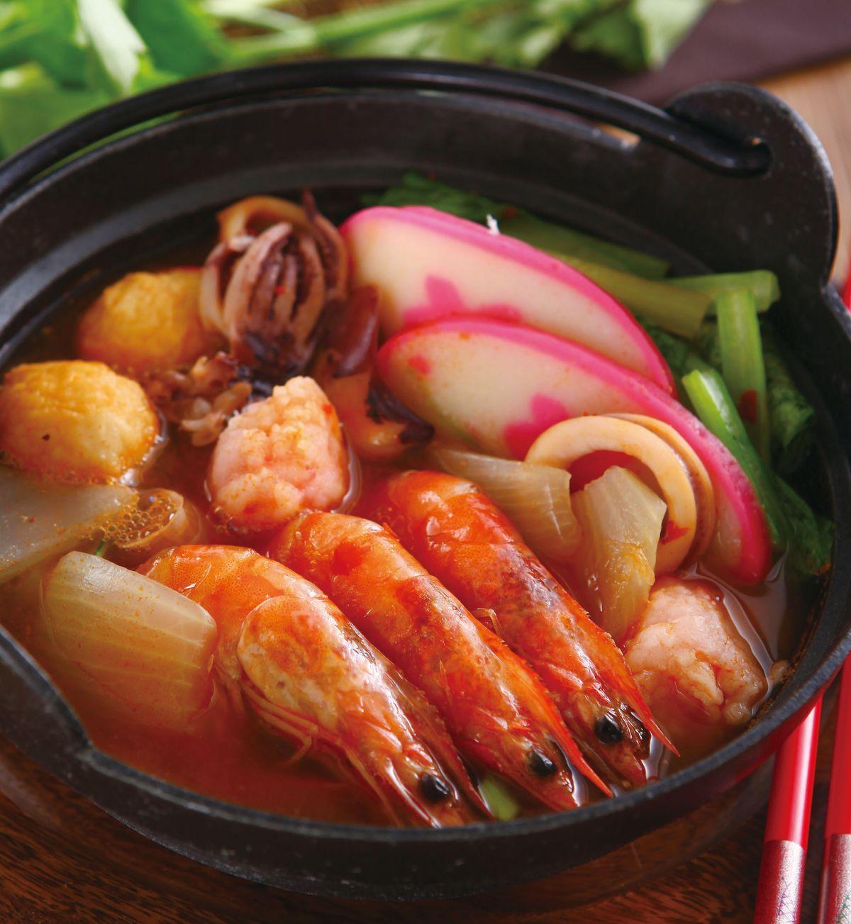 食譜:泰式酸辣海鮮鍋