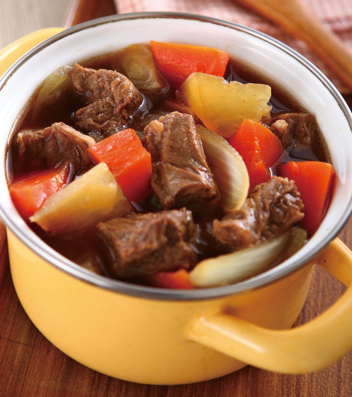 食譜:紅酒牛肉(2)