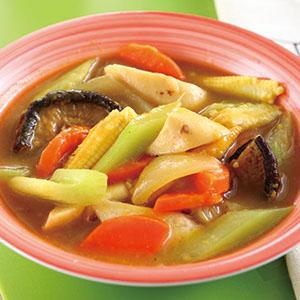 葡汁什錦蔬菜鍋