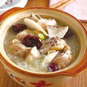 紅棗土雞鍋