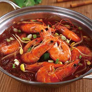 香辣鮮蝦粉絲鍋