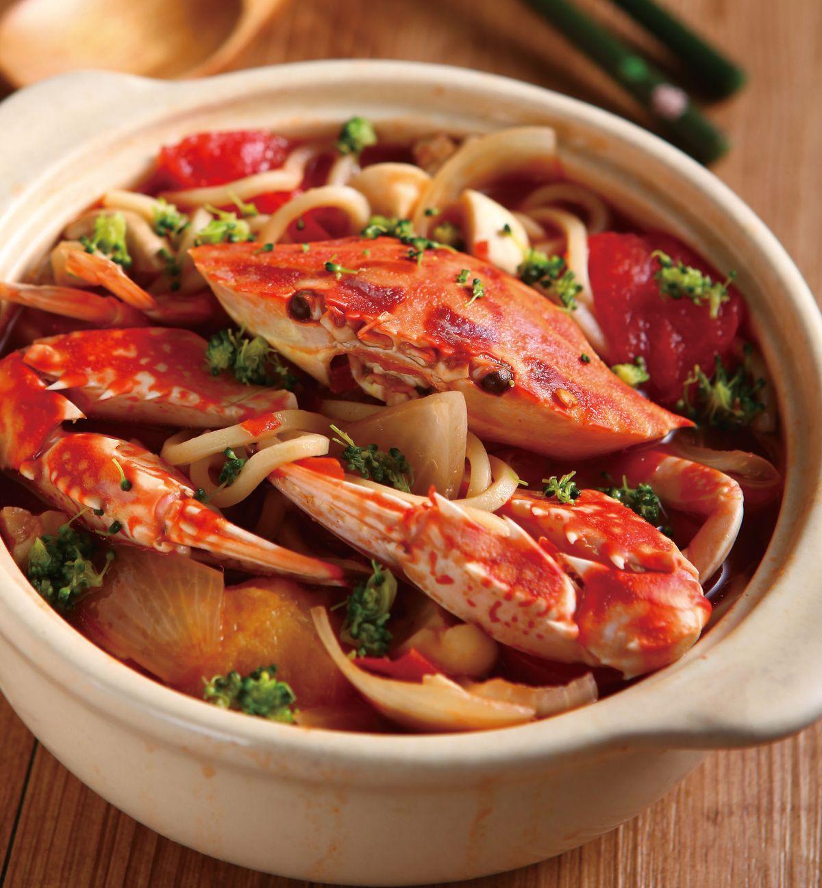 食譜:辣椒蟹鍋