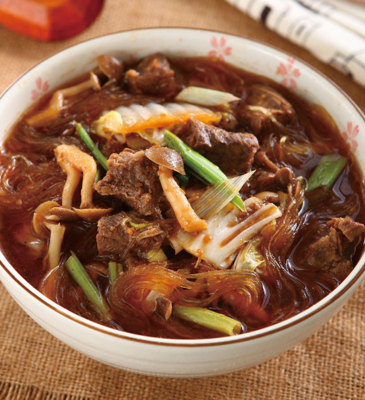 食譜:沙茶牛肉鍋