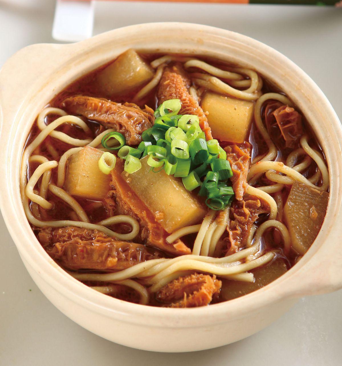 食譜:沙茶蘿蔔牛肚鍋