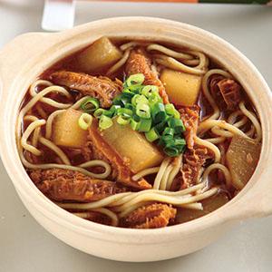 沙茶蘿蔔牛肚鍋