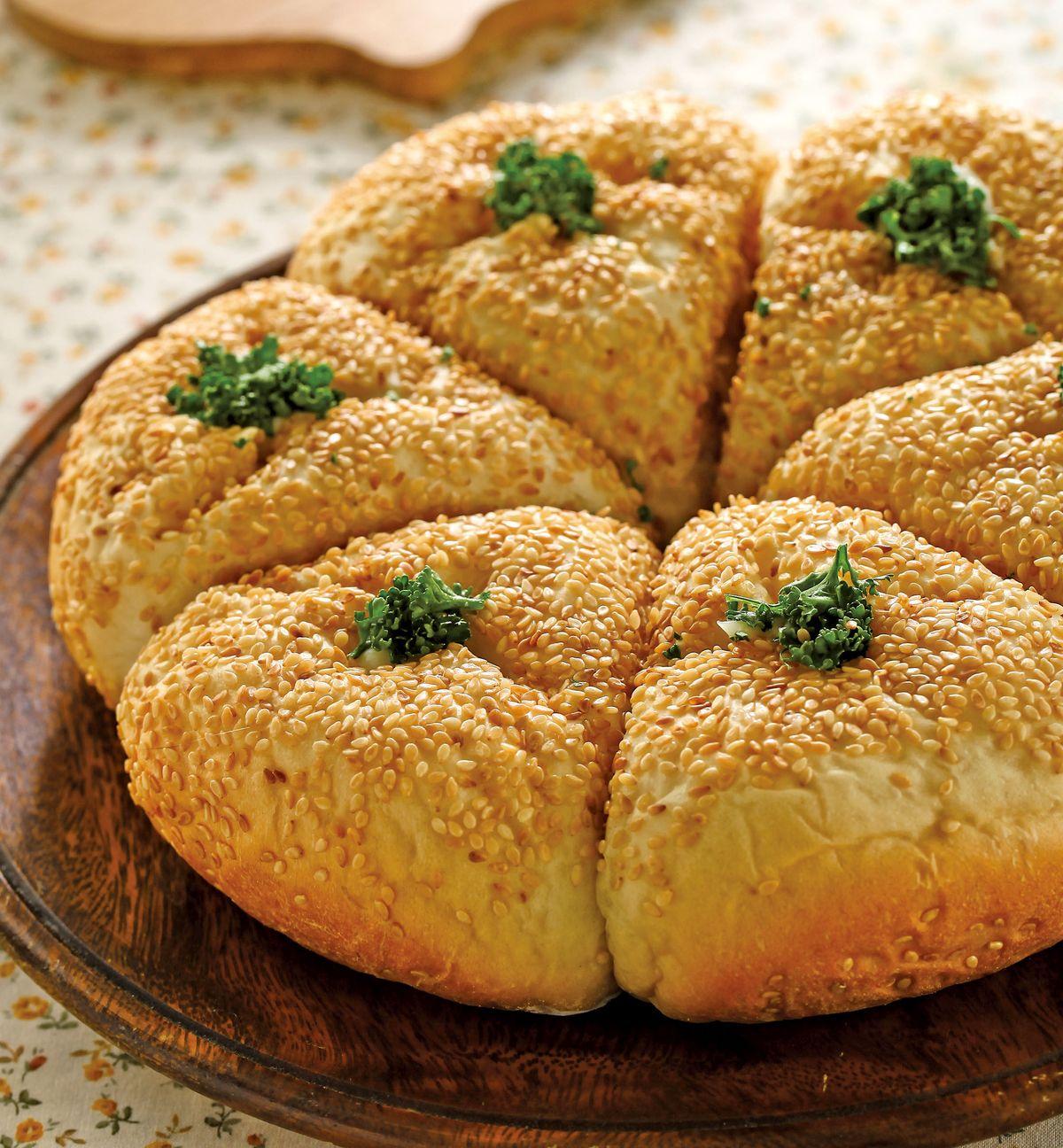 食譜:培根洋芋麵包