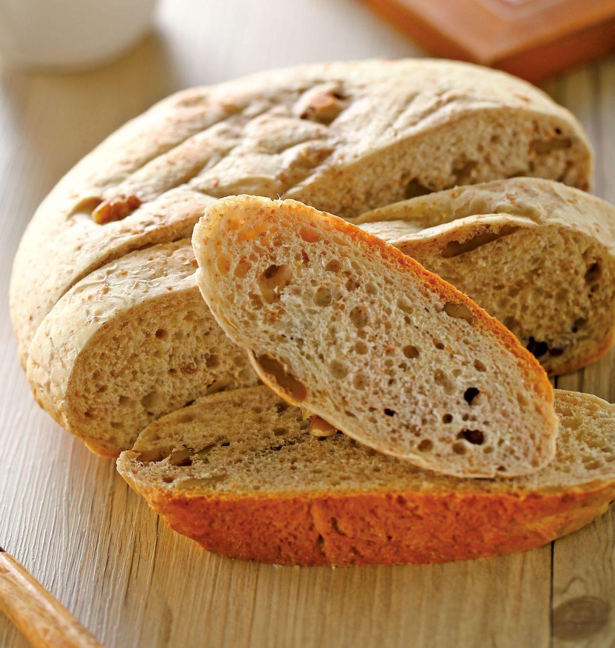 食譜:全麥核桃麵包(1)