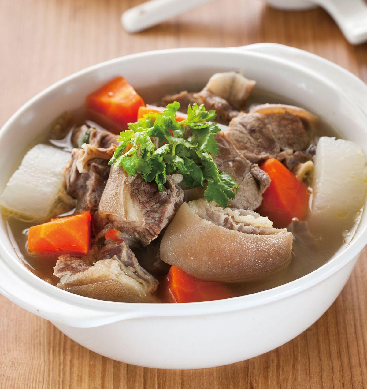 食譜:清燉羊肉鍋